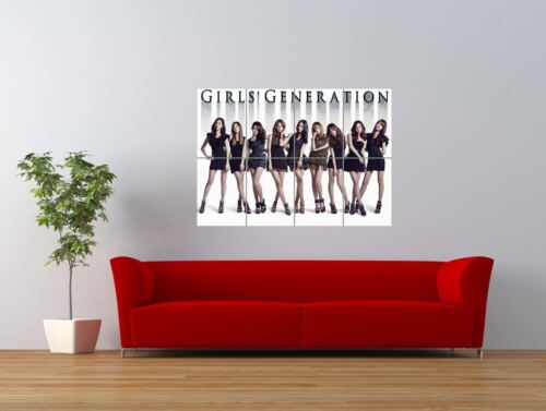 Snsd Girls Generation Music Group Japan Giant Wall Art Poster Print