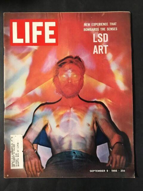 Life Magazine September 9 1966   LSD Art Experience