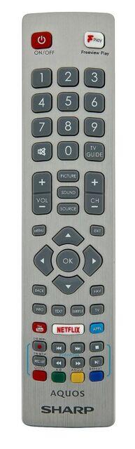 Sharp original Bluetooth-Fernbedienung LC-55CFG6022E LC-55CUG8462KS LC-55CUG8052