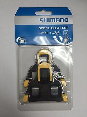 Original Shimano SM-SH11 Cleat set 6 degree Float SPD-SL Road Bike Pedal Cleats
