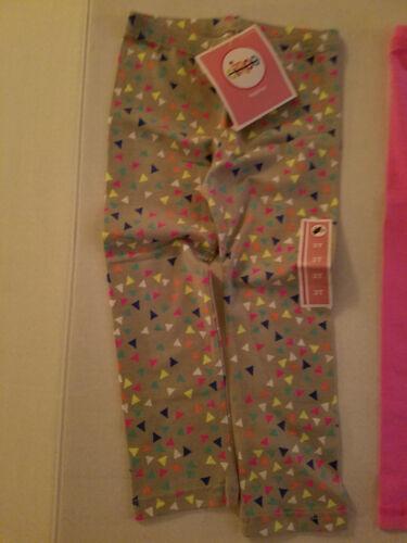 Circo Girls Toddler  Leggings  Size 3T  NWT  Pink or  Geometric