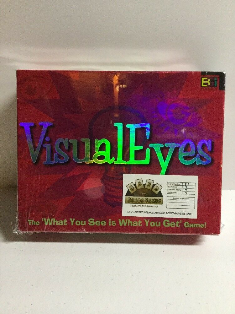 VISUAL EYES BOARD BOARD BOARD GAME COMPLETE BUFFALO GAMES a11195