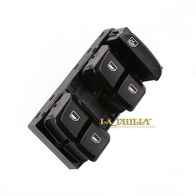 New Driver Side Master Power Window Switch Button for AUDI Q5 A4 B8 09-12