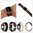 Cool Stripe Nylon Bracelet Strap Wristwatch Band For 38/42mm iWatch Apple Watch