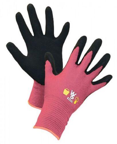 Kerbl 297332 Kinderhandschuh Kids pink 9-11 Jahre latexbeschichtet