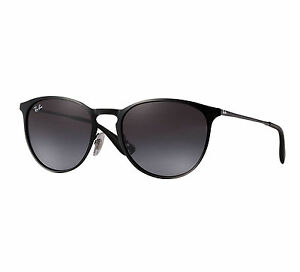 244793325e Ray-Ban Erika Metal Unisex Sunglasses with Grey Gradient Lenses and ...
