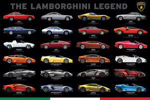 List of lamborghinis