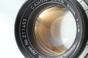 [For Parts] Canon 50mm f/1.8 Lens LTM L39 Leica Screw Mount From JAPAN #037