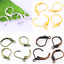 30-60Pcs-Brass-French-Hooks-Ear-Wires-Connector-Clip-Lever-Back-Earrings-Finding thumbnail 2
