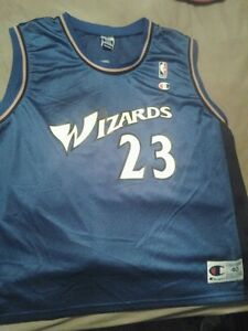 799d17b8d4f Washington Wizards  23 Michael Jordan Champion Men s Size 40 Jersey ...