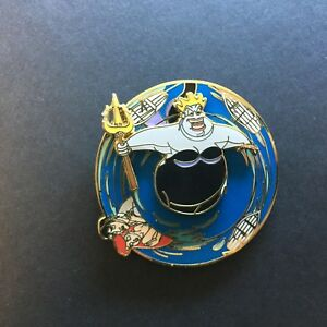 WDW-Ursula-Spinner-Ariel-Eric-The-Little-Mermaid-Very-RARE-Disney-Pin-33952