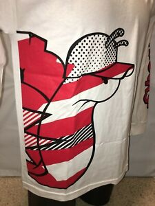 NEW-Slowbucks-Viral-Wear-Slide-In-Tee-Men-039-s-Long-Sleeve-T-Shirt-White-Red-42