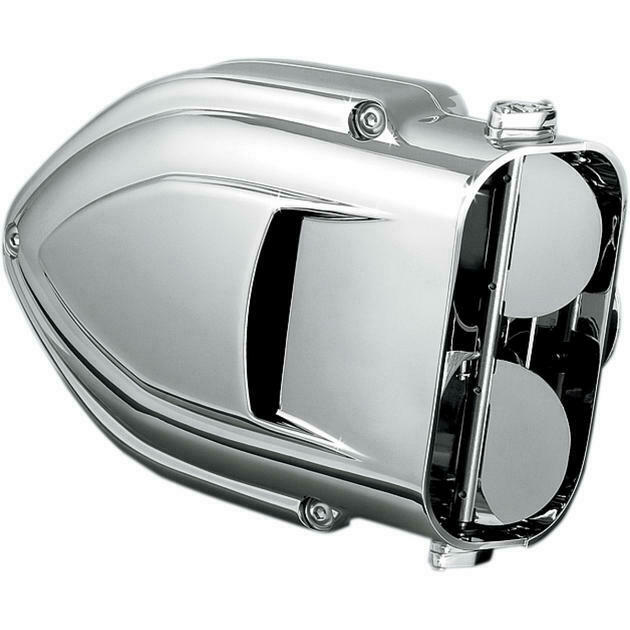 2002-08 Honda VTX1800 Motorcycles Kuryakyn 9411 Pro-Series Hypercharger Air Cleaner Kit for Metric Cruisers Chrome