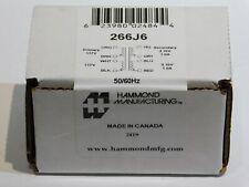 Hammond 266j6 Dual Primary Dual Secondary Transformer New In Box