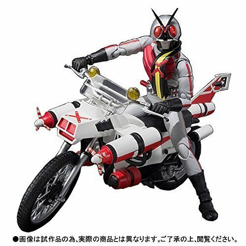 Premium Bandai S.H. Figuarts Masked Kamen Rider X & Cruiser Set Action Figure