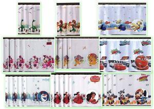 Disney-Decorazione-Finestra-Voile-Pronte-per-Bambini-Tende