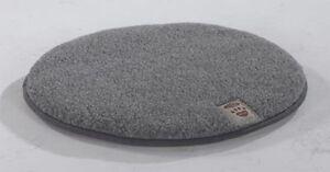 Lit pour chien Lit pour chien ou lit pour chat qui dort la laine de mouton rond 80 cm