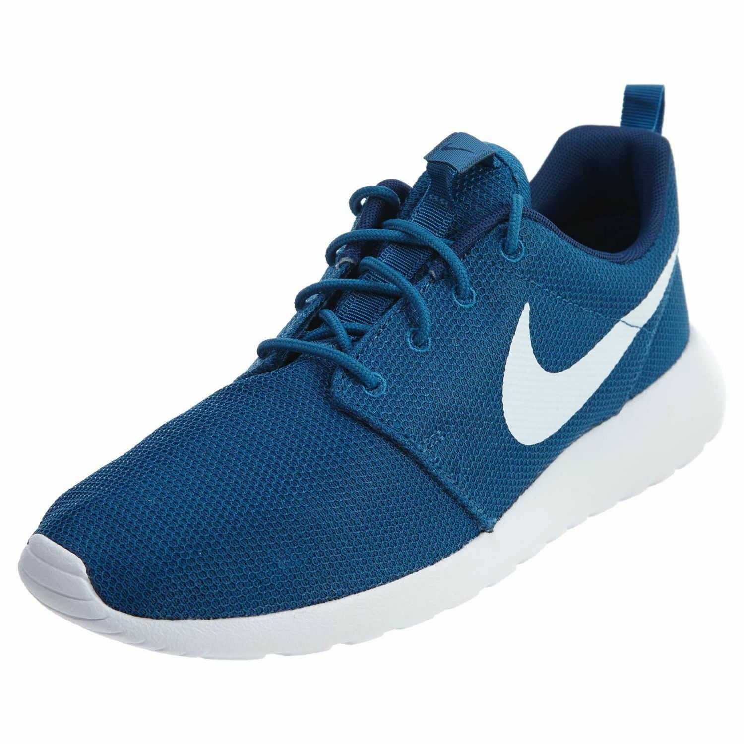 NIB MEN'S NIKE 511881-408 ROSHE ONE RUNNING SHOES INDUSTRIAL BLUE/WHITE Price reduction