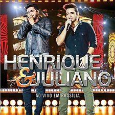 HENRIQUE & JULIANO-AO VIVO EM BRASILIA  CD NEW