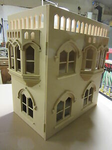 Dolls-House-1-12-scale-Tower-House-Extension-Mediaeval-Stone-Building-kit-DHD