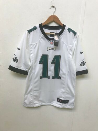 Philadelphia Eagles Nike NFL Men's Road Game Jersey - Small - Wentz 11 - New