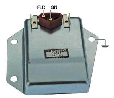 New HD External Voltage Regulator Chrysler Dodge Plymouth,1970-1987 Adjustable