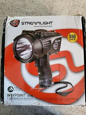 Streamlight Waypoint Rechargeable DC Cord Flashlight 44923