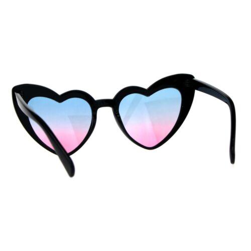 Cateye Heart Shape Sunglasses Womens Cute Designer Fashion Shades