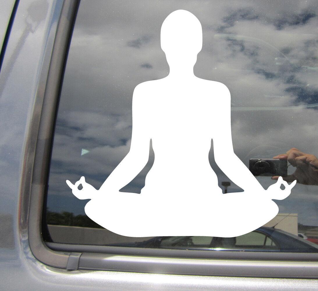YOGA POSITION #6 VINYL DECAL STICKER CAR//VAN//WALL//WINDOW//BEDROOM//LAPTOP//TABLET