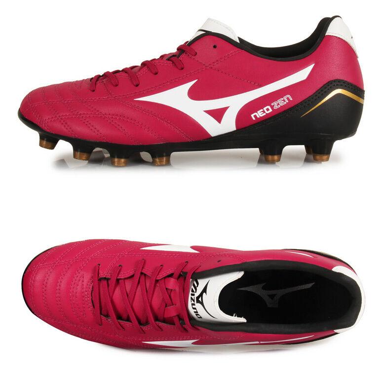Mizuno Neo Zen MD   P1GA141466 Soccer Football Cleats schuhe Stiefel rot