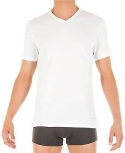 Tommy Hilfiger 09T3225 Cotton Classics Short Sleeve Crew Neck T Shirt (White M)