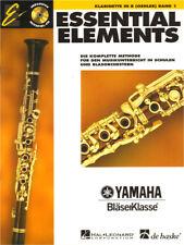 Essential Elements Bläserklasse Klarinette in B Bb Oehler Band 1 Noten mit CD