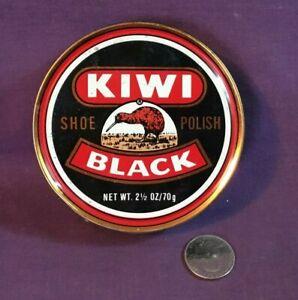 Vintage-Advertising-Tin-BLACK-KIWI-SHOE-POLISH-Douglassville-PA-EMPTY