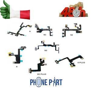 FLAT-FLEX-CIRCUITO-POWER-MUTE-PER-IPHONE-5-5S-5C-6-6S-PLUS-VOLUME-ON-OFF-TASTI