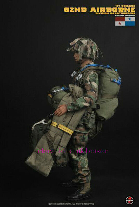 Soldier Story 82nd Airborne Panama 1//6 Scale Headsculpt