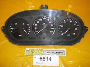 Tacho-Renault-Megane-7700839644-Nr-6614-A