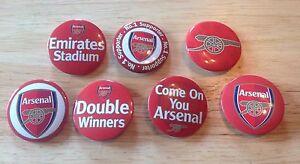 Set-of-7-Arsenal-FC-Badges
