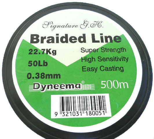SIGNATURE GH DYNEEMA Lo Vis Green Fishing Braid Line All Sizes 1000 M   1100 YDS