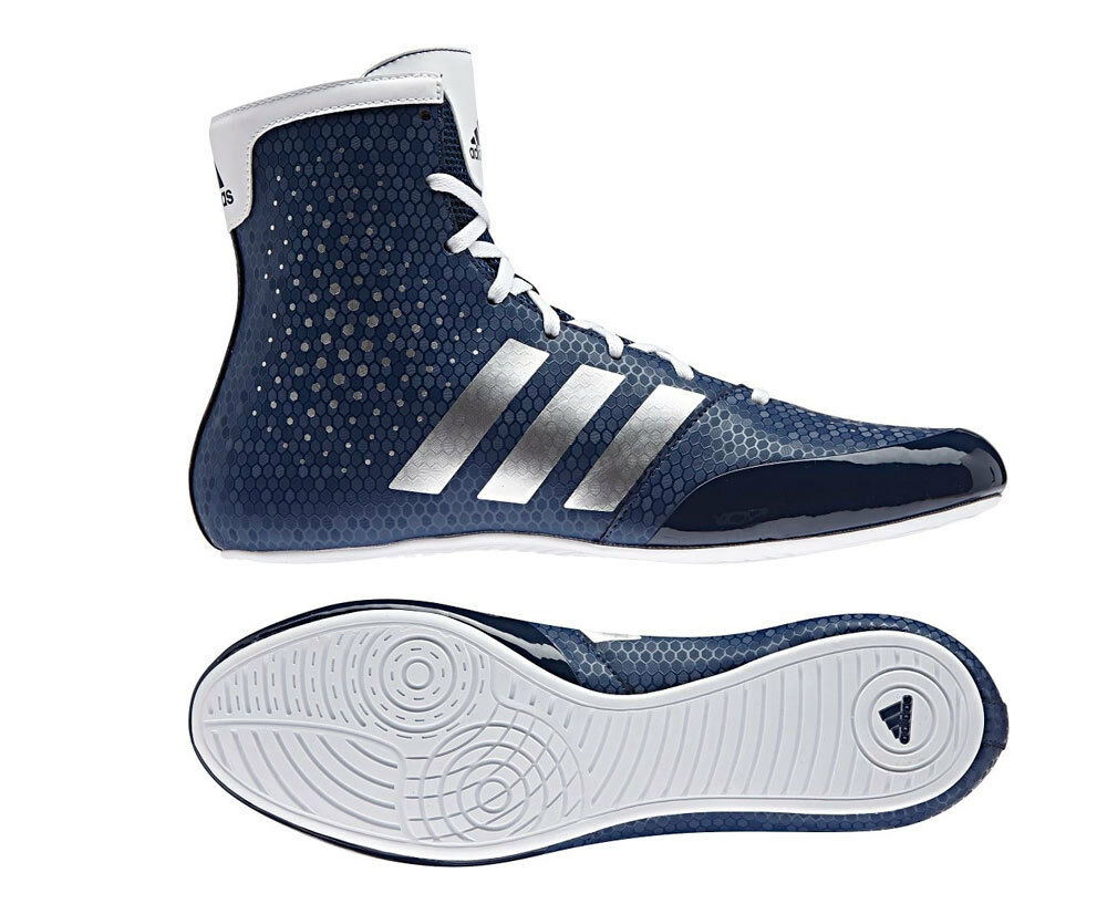 Adidas Boxing KO Legend 16.2 Bottes BA9077 Box Bleu Navy Ring Lungs Navy Rare