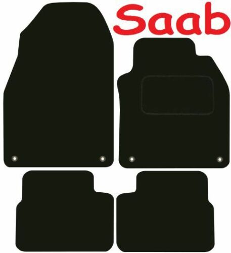 Saab 9-3 SportsWagon Tailored car mats ** Deluxe Quality ** 2010 2009 2008 2007