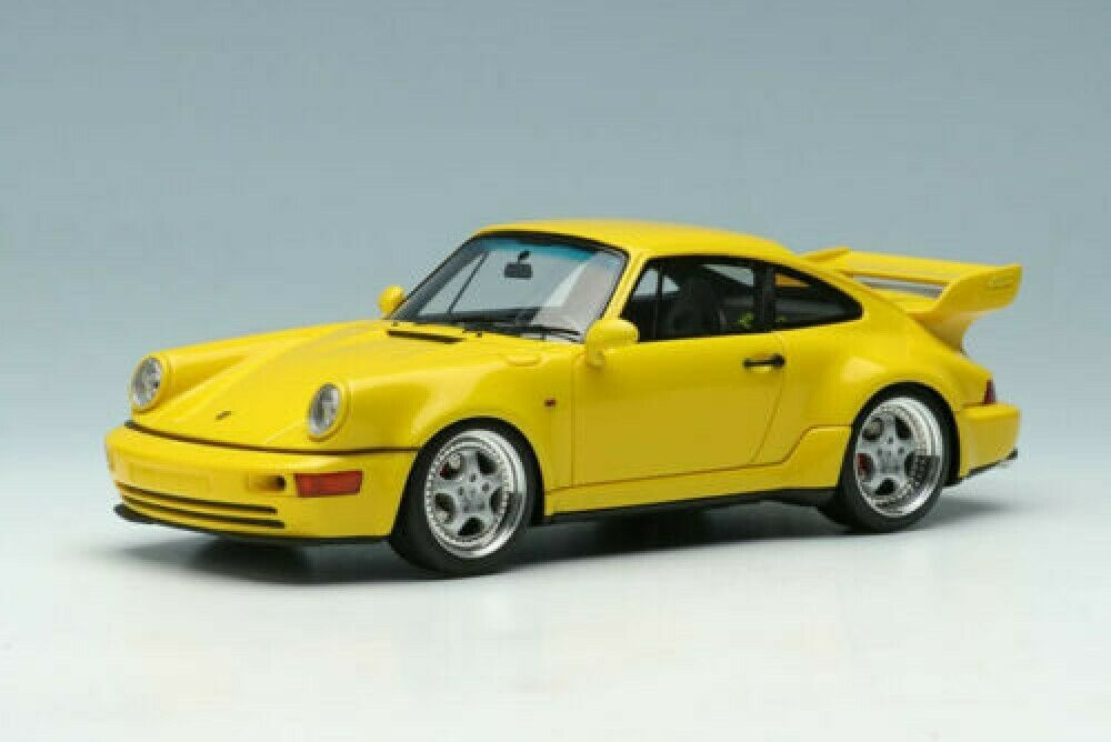NEW VISION 1 43 Porsche 911 (964) Carrera RS 3 8 1993 Yellow VM156B from Japan
