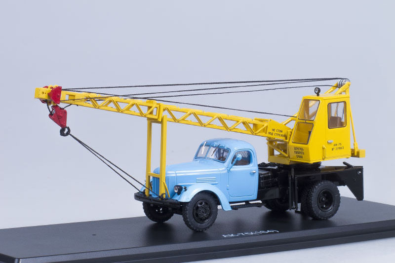 AK-75 USSR crane on ZIL 164 chassis  1 43 Start Scale Models SSM1129