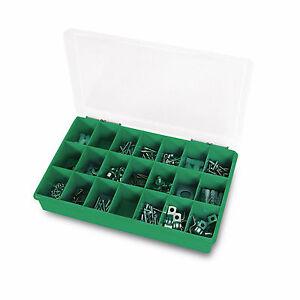6-x-Sortierkasten-Sortierkiste-Sortimentskasten-Sortierbox-21-Faecher-290x195x54