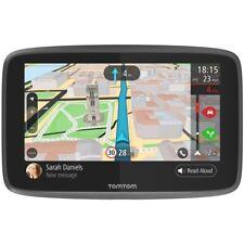 "TomTom GO 6200 6"" Sat Nav Wi-Fi Lifetime World Maps Traffic Updates SIM Card"