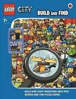 LEGO City: Build and Find With Minifigure by Penguin Books Ltd (Hardback, 2014)