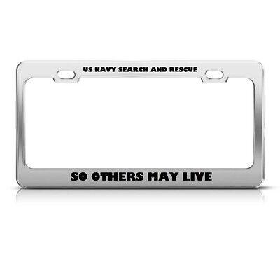 Protected by German Shepherd Black Metal License Plate Frame Tag Holder