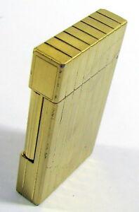 Ehrlichkeit Feuerzeug S.t.dupont Gold In Geschenkbox Original Mit Papieren Ohne Gravierung