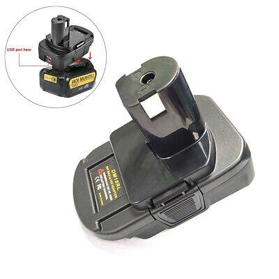 Battery Convertor Adapter For DEWALT Milwaukee Converter To RYOBI 18V Tool FR