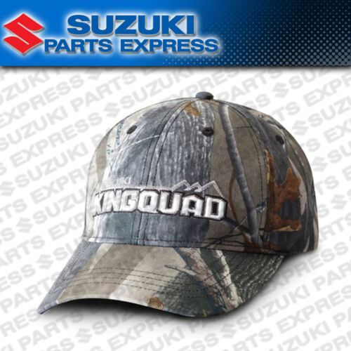 NEW SUZUKI KINGQUAD CAMO HAT CAP LT LTA LTF LTX AXI 4X4 KING QUAD 990A0-17148