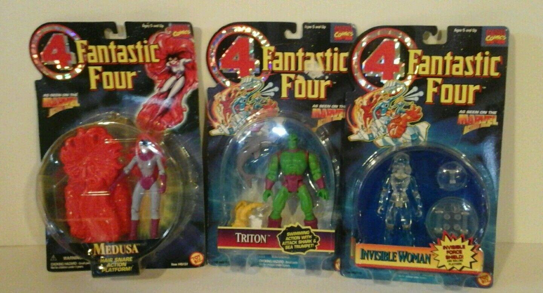 Fantastic four Invisible  Damens  Inhuman  Medusa  and Triton